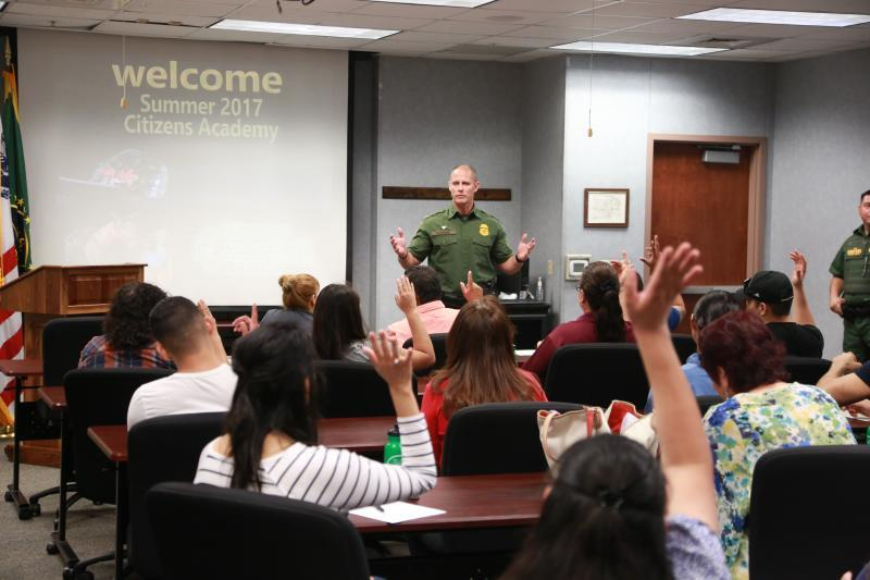Laredo Sector Border Patrol Commenced Citizens Academy