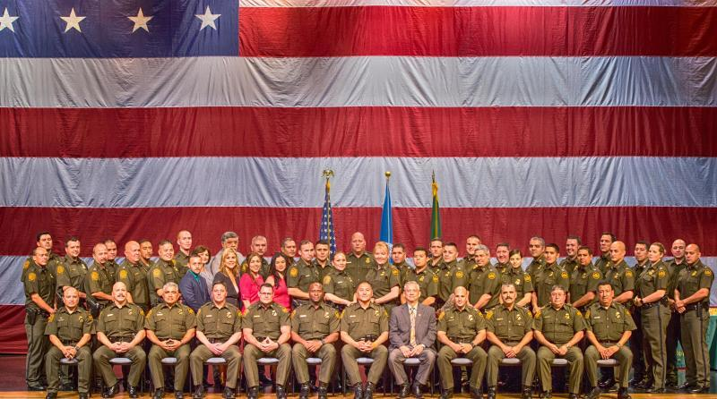 Laredo Sector Border Patrol Holds Promotion Ceremony