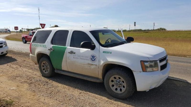 Photo of cloned Border Patrol vehicle