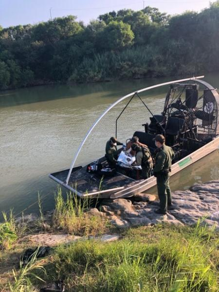 BO marine unit prevents a person from drowning