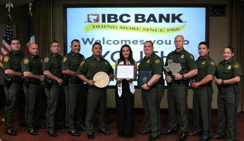 Laredo Sector Border Patrol selects Youth of the Year