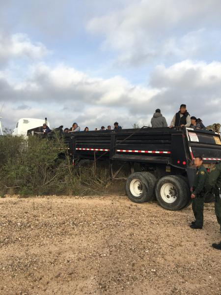 USBP apprehends 75 illegal aliens and narcotics