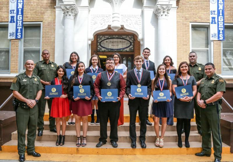 Laredo Sector Border Patrol Honors December's Youth of the Month