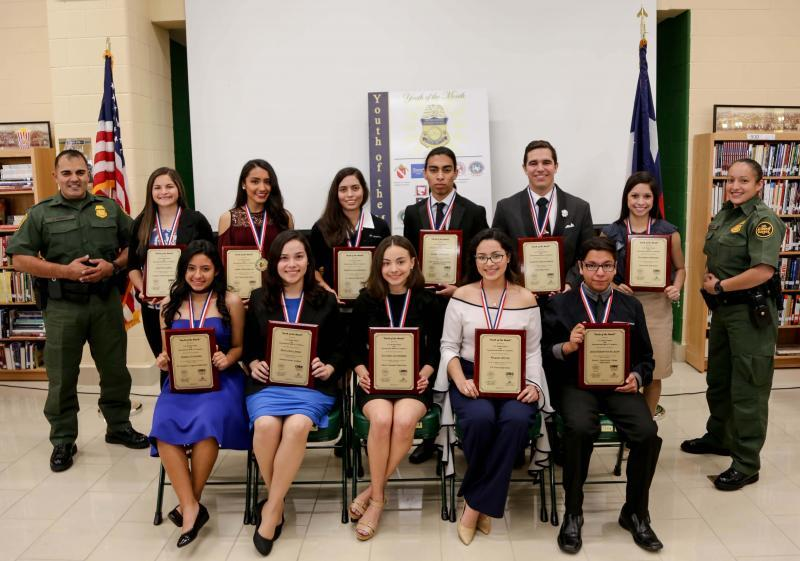 Laredo Sector Border Patrol Honors March Youth of the Month