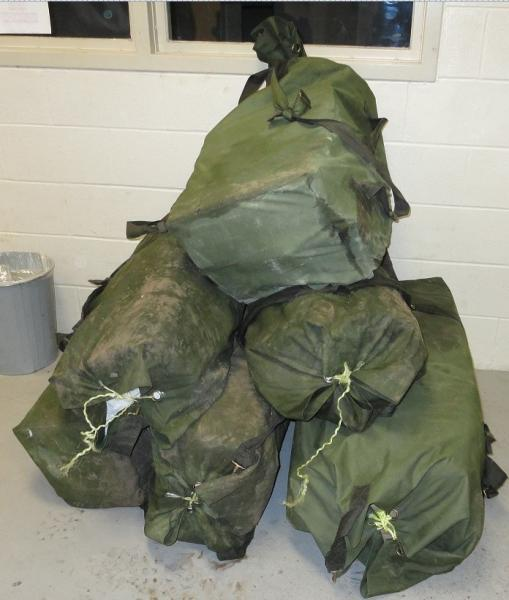 Del Rio Sector agents seized more than 1,000 pounds of marijuana, in three different incidents, recently.