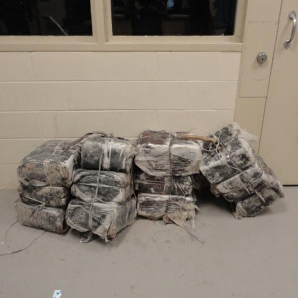 On Sep. 2, agents from the Eagle Pass South Station, found a total of 143 pounds of marijuana, abandoned near the Rio Grande River.