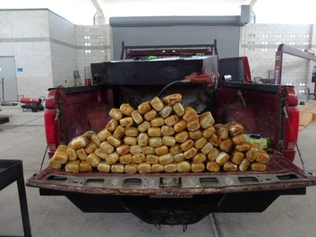 CBP officers at the Del Rio International Bridge recently discovered more $90,000 worth of suspected marijuana.