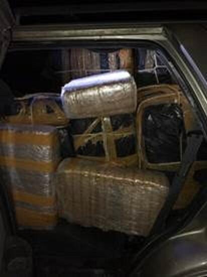 Border Patrol Seizes Nearly 600 Pounds of Marijuana Worth