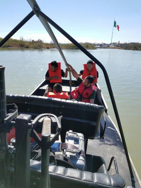 Agents working with the Border Patrol Marine unit in Eagle Pass, rescued four undocumented immigrants from drowning.