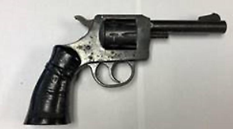 Agents discovered a .22-caliber revolver in the possession of an illegal alien.