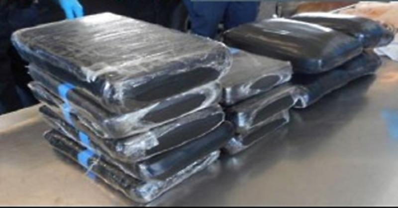 Officers seized drugs worth an estimated $291,774.