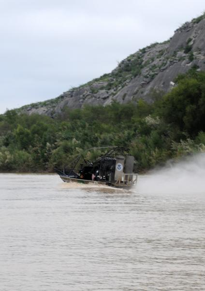 Coordination between the government of Mexico and U.S. officials resulted in the rescue of the individual.