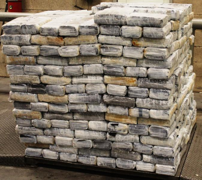 Packages containing 1,439 pounds of marijuana seized by CBP officers at Pharr International Bridge
