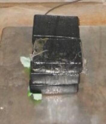 Bundles containing 12.61 pounds of heroin seized by CBP officers at Pharr International Bridge