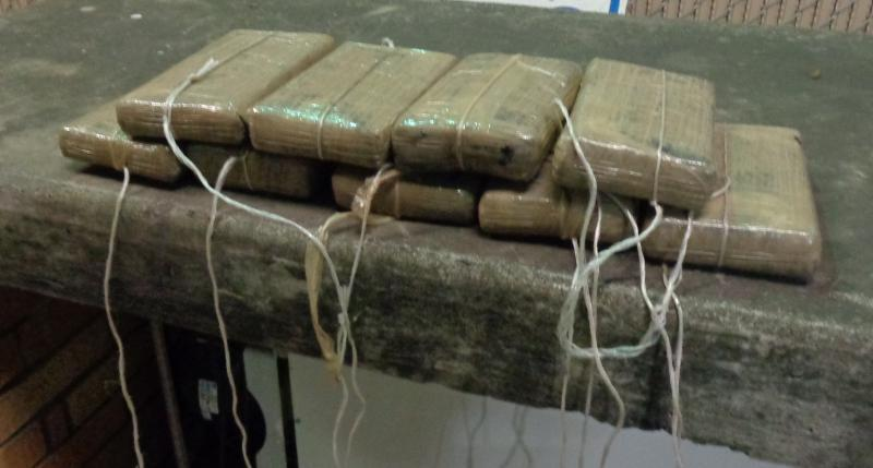 Packages containing 24 pounds of cocaine seized by CBP officers at Hidalgo Bridge