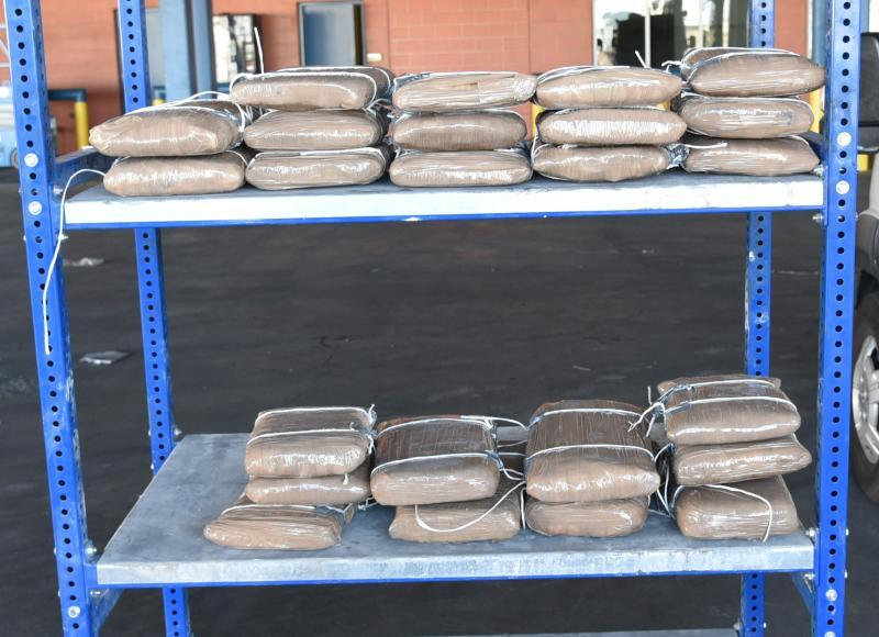 Packages containing more than 140 pounds of methamphetamine seized by CBP officers at Laredo Port of Entry