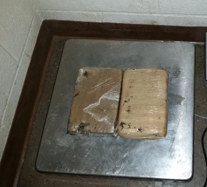 Packages containing nearly five pounds of heroin seized by CBP officers at Brownsville Port of Entry