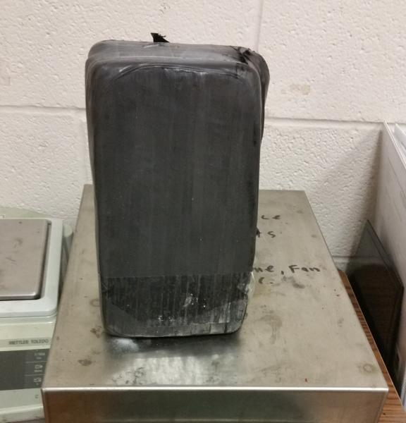 Packages containing $36,550 in cocaine seized by CBP officers at Brownsville Port of Entry