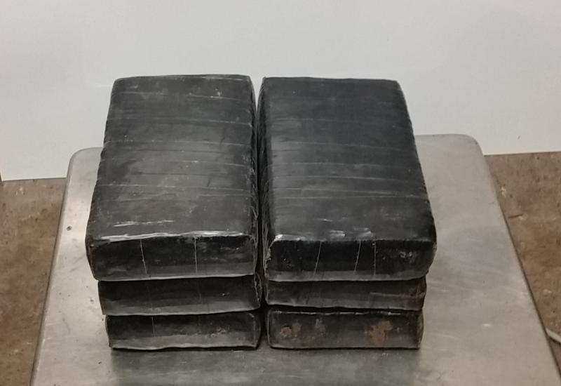 Packages containing nearly 15 pounds of cocaine seized by CBP officers at Brownsville Port of Entry