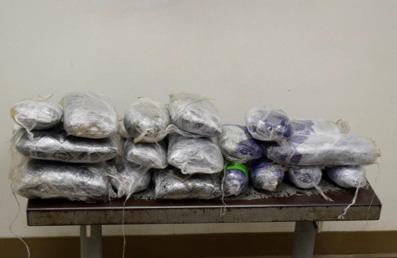 Packages containing nearly 99 pounds of methamphetamine seized by CBP officers at Brownsville Port of Entry