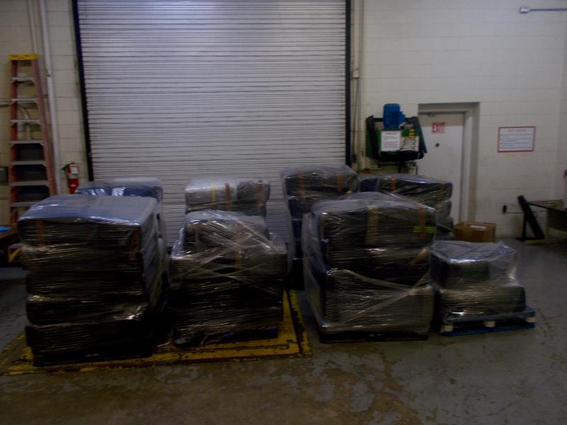 Packages containing 4,239 pounds of marijuana seized by CBP officers at World Trade Bridge