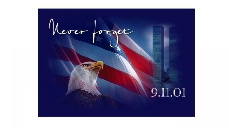 9/11 poster: never forget