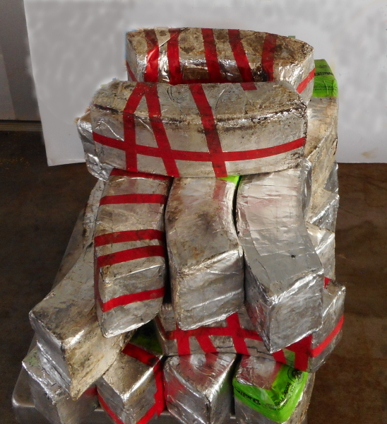 Packages containing 95 pounds of methamphetamine, 44 pounds of heroin seized by CBP officers at Hidalgo Port of Entry