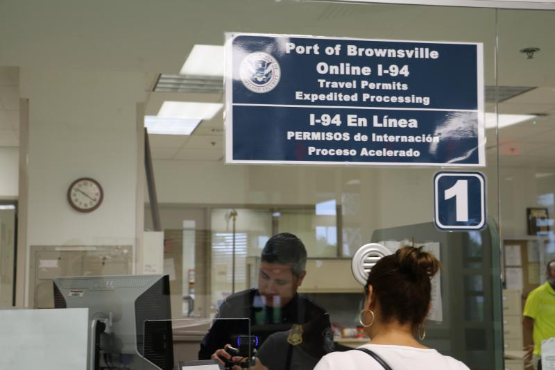 Window for processing of electronic I-94 permit applications submitted online at Brownsville Port of Entry