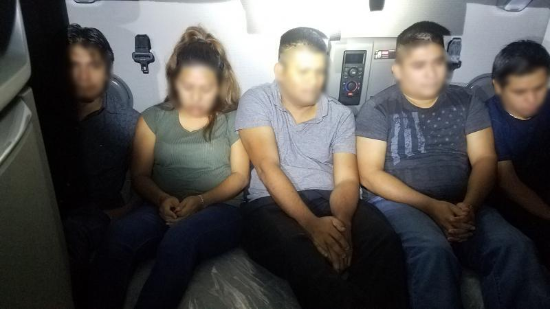 Border Patrol agents discovered 10 aliens hidden in the sleeper cab of a tractor trailer at the Interstate 35 checkpoint