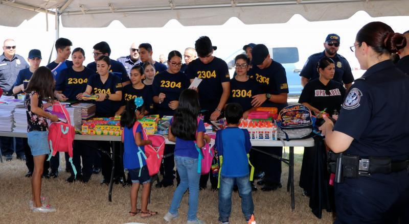CBP Employees from the Laredo Port of Entry and Explorer