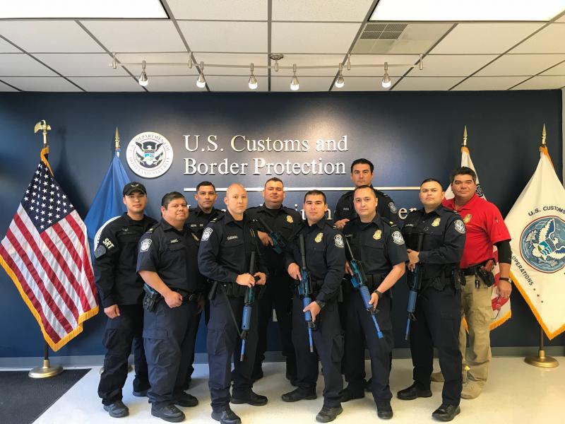 CBP officers from Laredo Port of Entry Host Acting Shooter Response Training