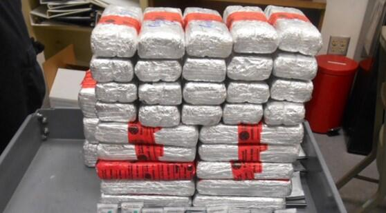 Packages containing 42 pounds of heroin, 20 pounds of cocaine seized by CBP officers at Laredo Port of Entry