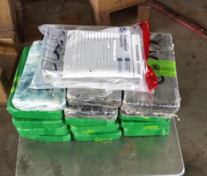 Packages containing 40 pounds of cocaine, 2.47 pounds of heroin seized by CBP officers at Hidalgo/Pharr/Anzalduas Port of Entry.