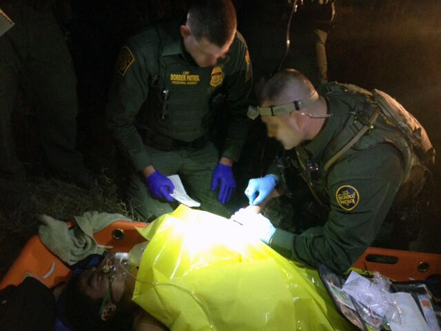 Border Patrol agents in RGV rescue undocumented Salvadoran migrant