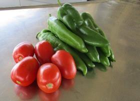 Prohibited produce recently seized.