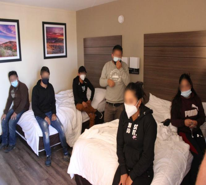 Aliens found in an El Paso motel.