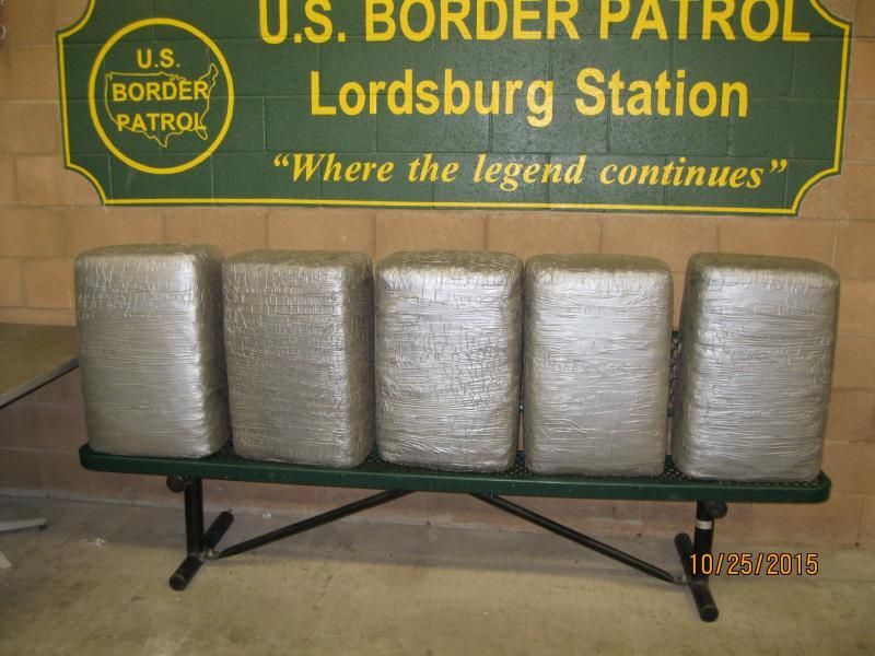 Marijuana seized by Border Patrol agents in southern New Mexico