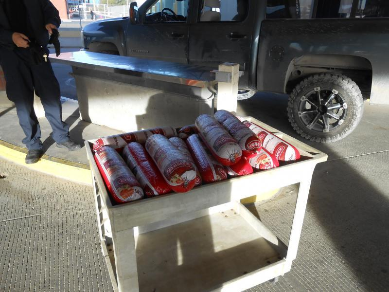 Bologna seized at El Paso port