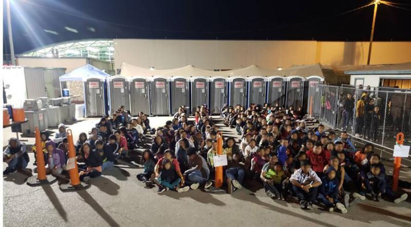 Group detained in El Paso.
