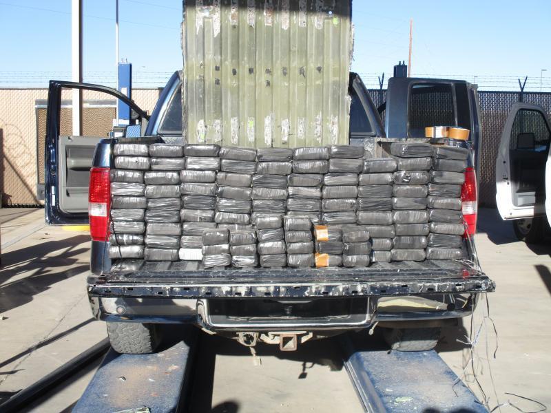 Pick up bed drug load
