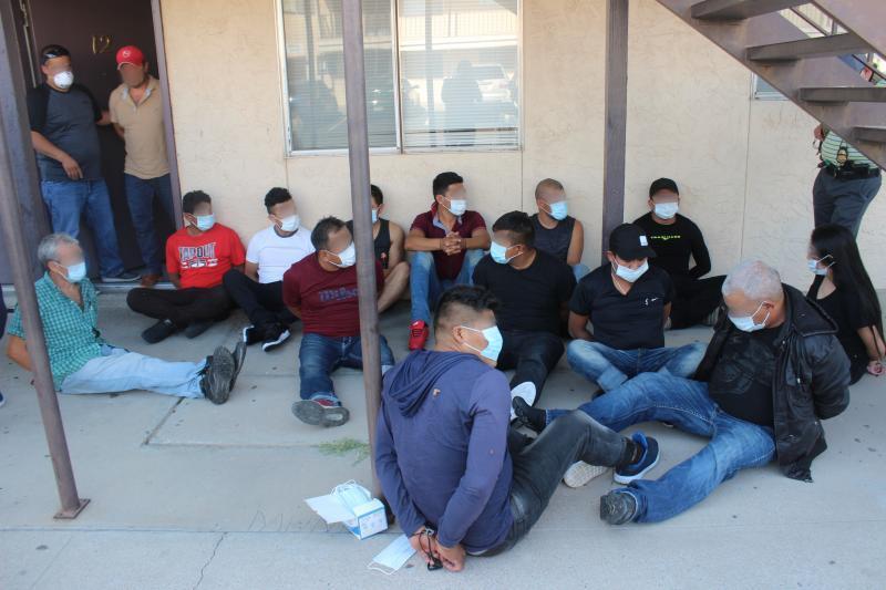 El Paso stash house arrests.