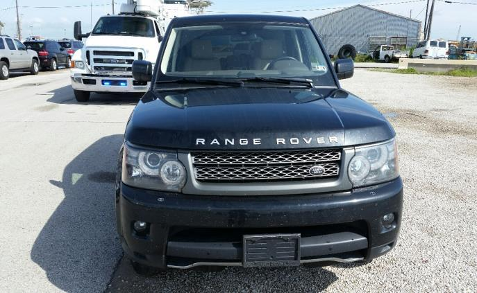 The stolen Land Rover was set to be exported until CBP officers intervened.