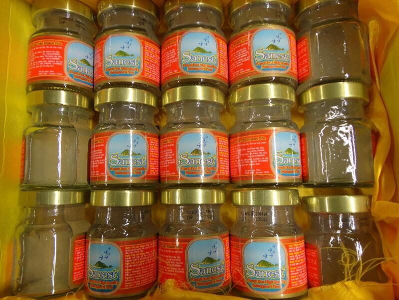 CBP agriculture specialists seized 15 jars of edible bird's nest.