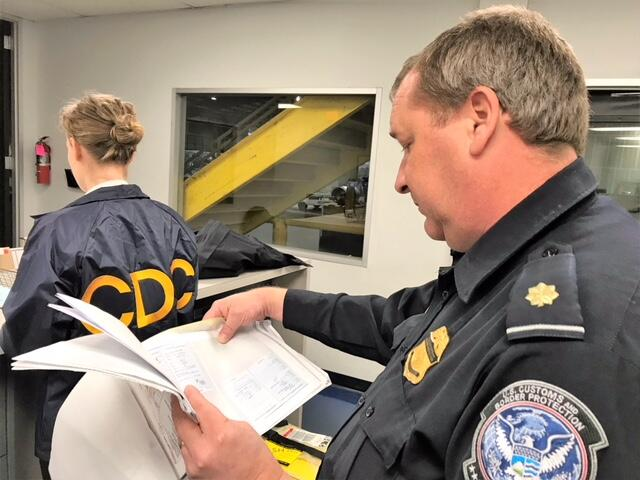 CBP examines documents