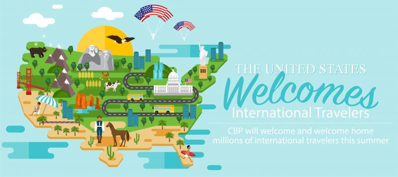 US Welcome Graphic