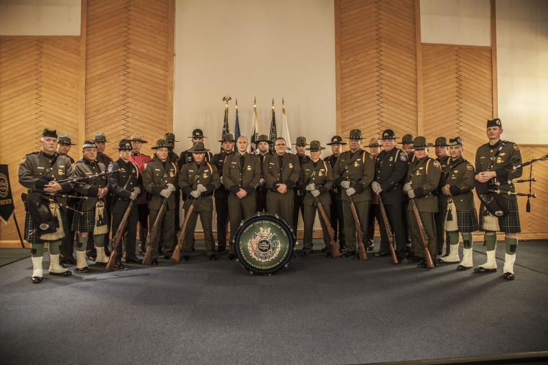 Acting U.S. Border Patrol Chief Ronald D. Vitiello swore in Chief Patrol Agent Douglas Harrison as Chief Patrol Agent of Detroit Sector