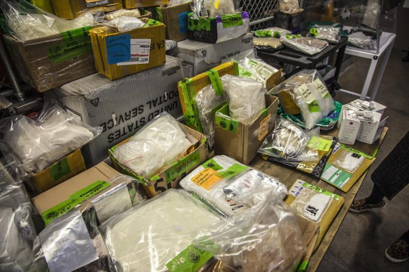 Narcotics seized at Chicago International Mail facility