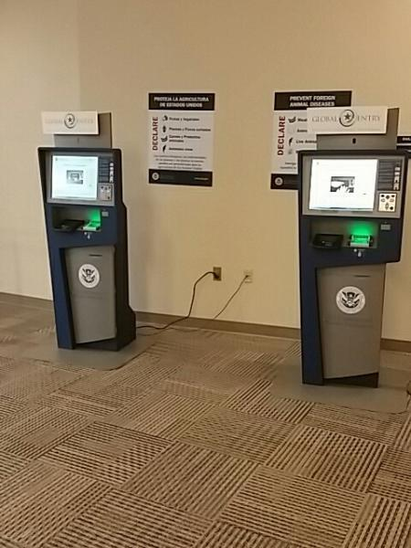 New GE Kiosks at Indianapolis International