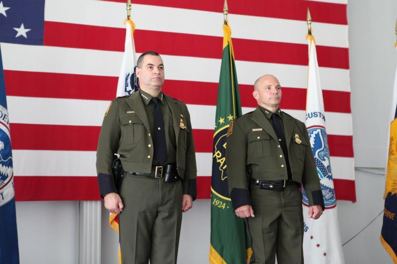 Grand Forks Border Patrol Sector held an official Change of Command ceremony at the Grand Forks Air Force Base. Chief, U.S Border Patrol  Michael J. Fisher officiated over the ceremony, which formally installed Chief Patrol Agent Aaron Heitke as the head of Grand Forks Sector