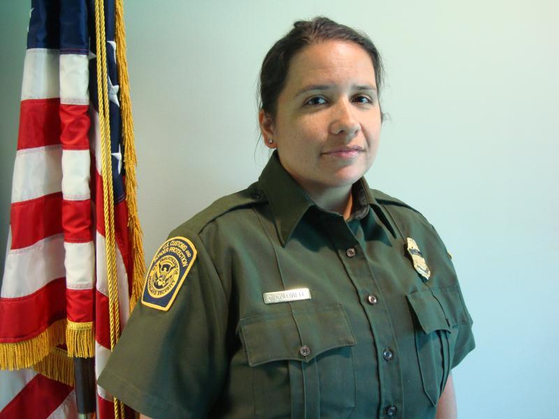 Massena Station Tribal Liaison Border Patrol Agent Carrie Caldwell